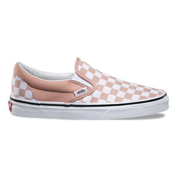 bcaf811d4b353c Pink and White Checker Vans sz 8 women brand new